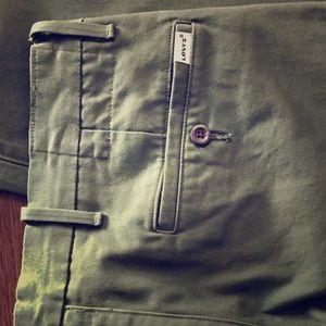Army Green Levi's slacks